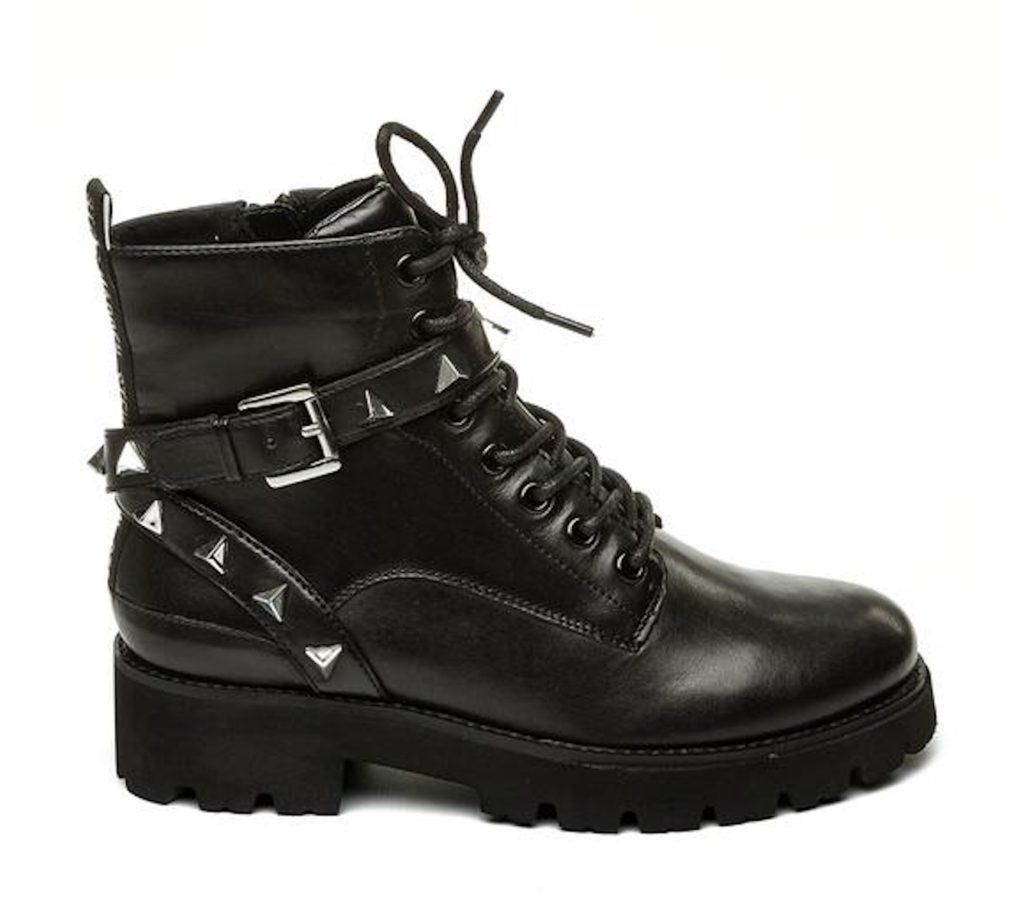 STEVE MADDEN RYLANA Black Leather