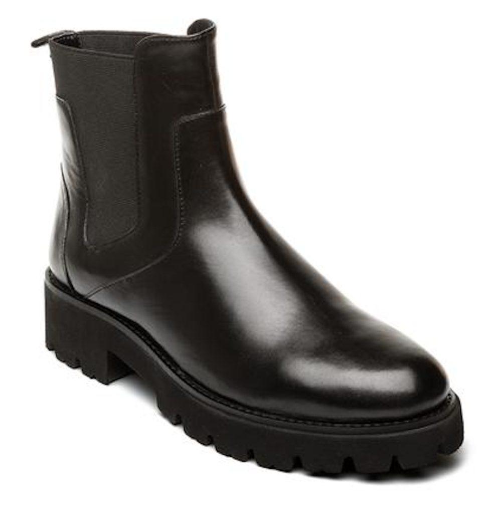 STEVE MADDEN GRACEY Black Leather