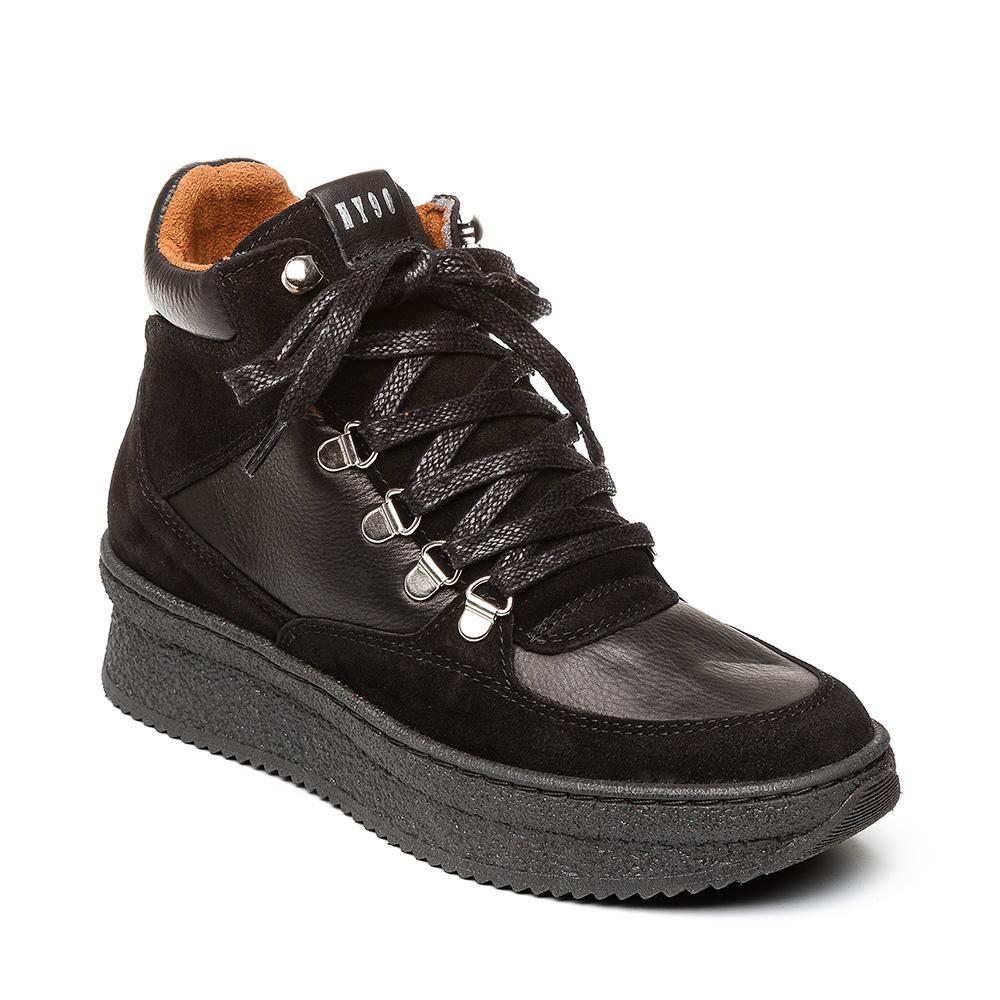 STEVE MADDEN PANDORA Black Leather