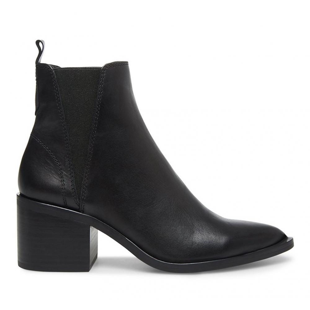 STEVE MADDEN AUDIENCE Black leather