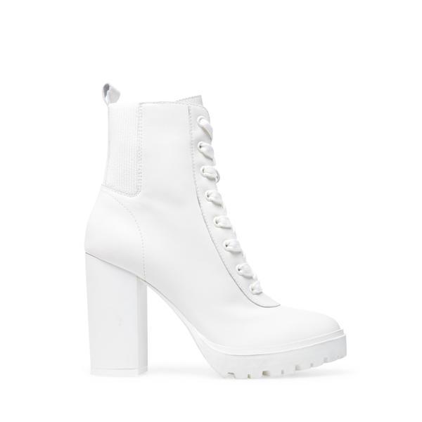 STEVE MADDEN LATCH White leather