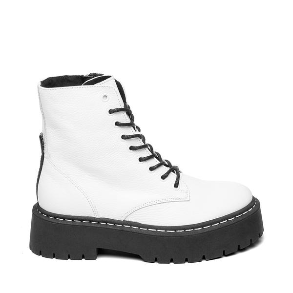STEVE MADDEN SKYLAR White leather