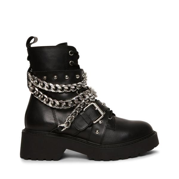 STEVE MADDEN TEMINA Black leather