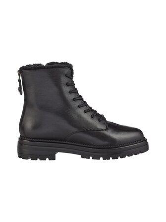 STEVE MADDEN IVORY-F Black leather