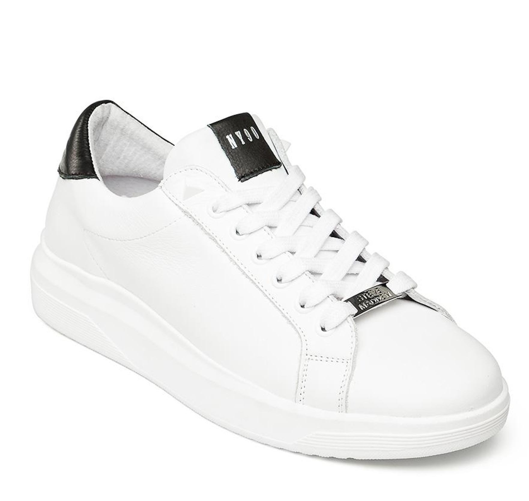 STEVE MADDEN ALEX White Leather