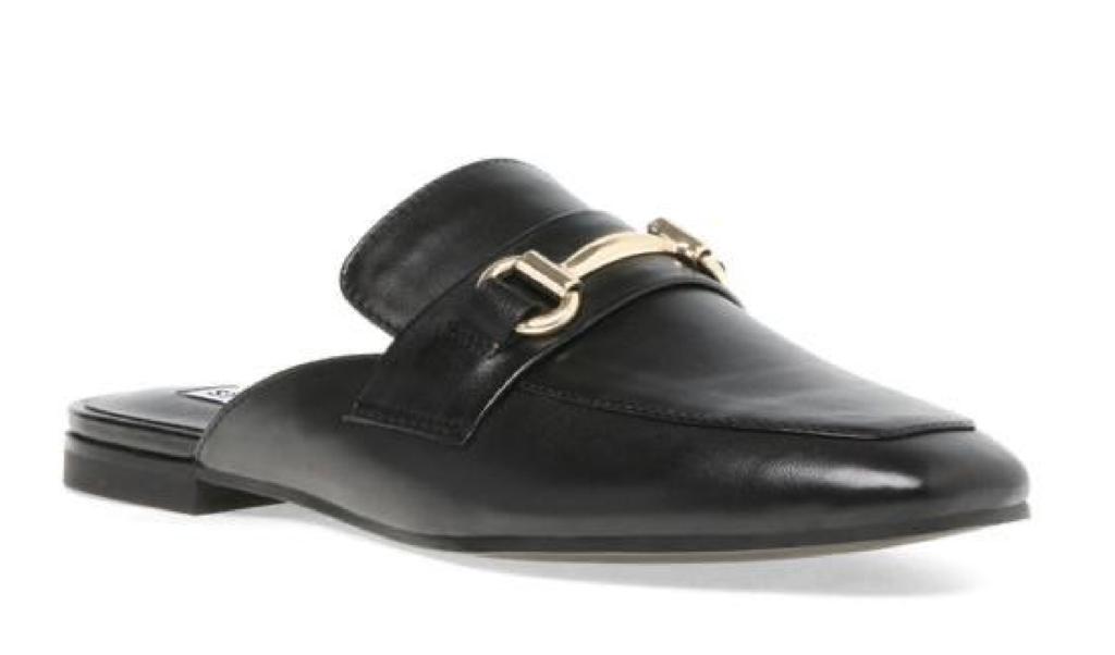 STEVE MADDEN KORI Black Leather