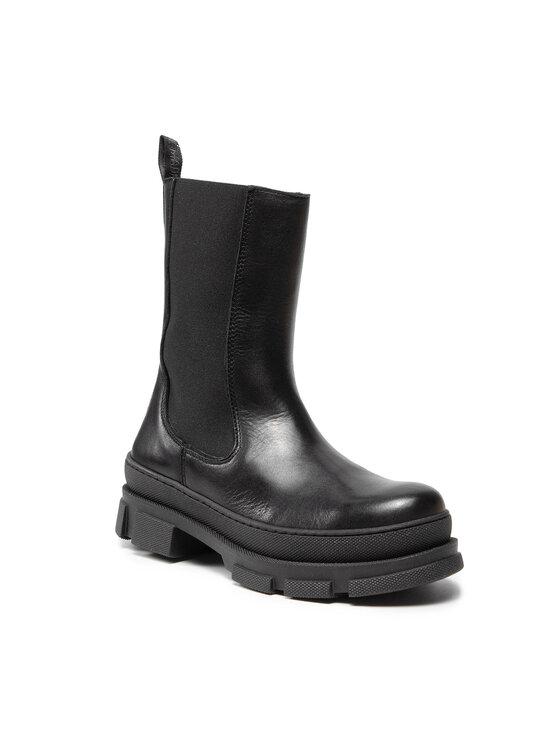 STEVE MADDEN FILINA Black Leather