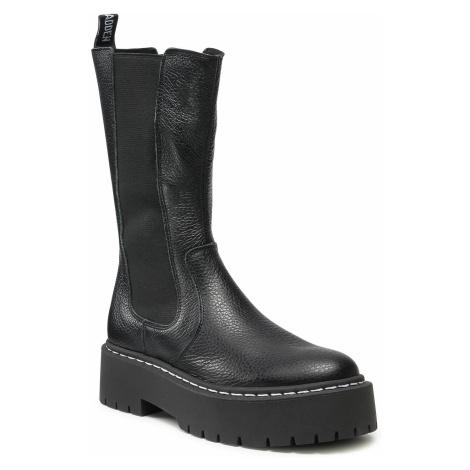 STEVE MADDEN VIVIANNE Black Leather